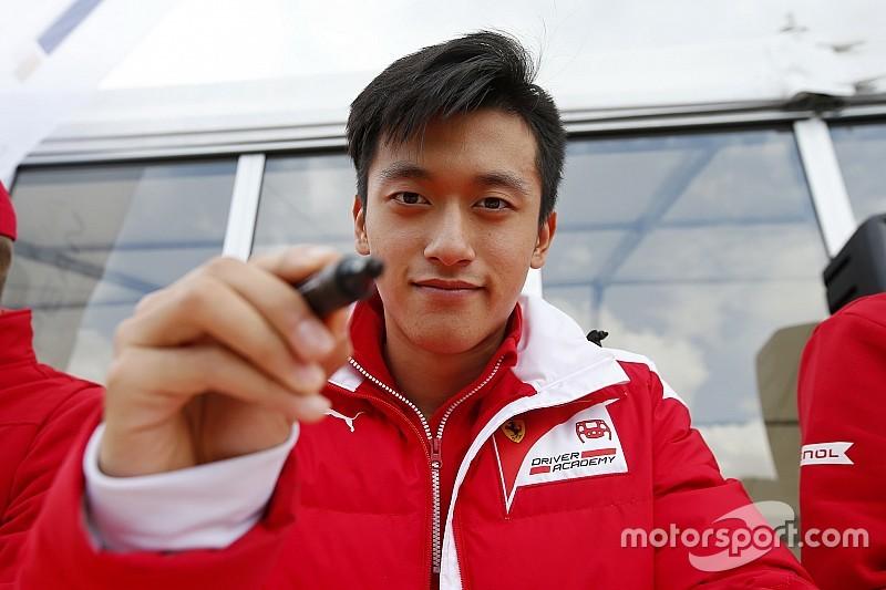 Guan Yu Zhou confermato da Prema: nel 2018 correrà ancora in F.3