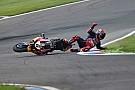 Fotostrecke: Crash von Bradl im WorldSBK-Training am Lausitzring