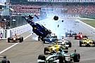 Formel 1 Fotostrecke: Heftigste Startunfälle der Formel-1-Geschichte