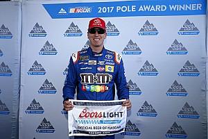 NASCAR Sprint Cup Crónica de Clasificación Suárez largará octavo en Pocono y Busch desde la pole