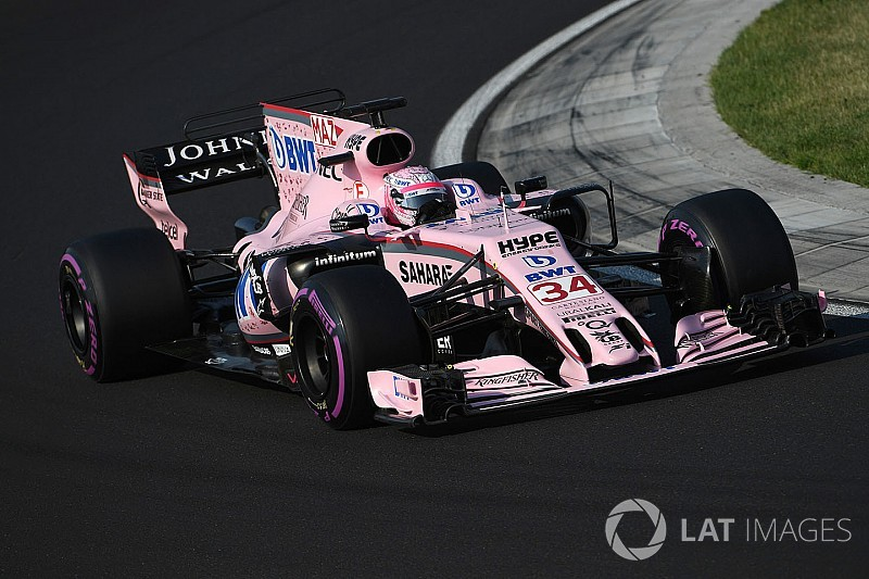 Force India ai test di Yas Marina con Perez, Ocon e Mazepin