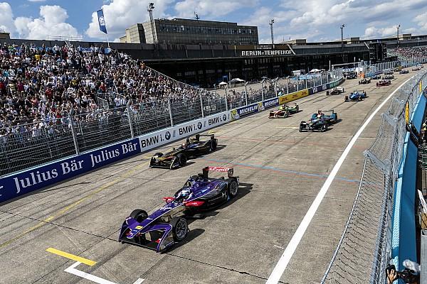 Formula E race power increase