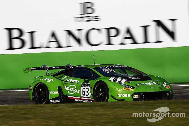 BSS у Брендс-Хетчі: екіпаж на Lamborghini виграв кваліфікацію
