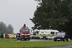 BTCC Breaking news BTCC boss says safety advances saved driver in Croft pile-up