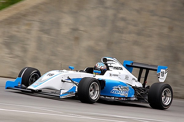 New Pro Mazda Tatuus completes successful first test