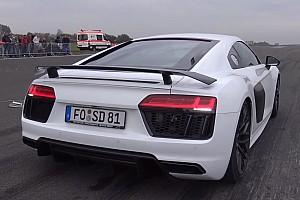 Auto Actualités Vidéo - Une Audi R8 de 900 chevaux!