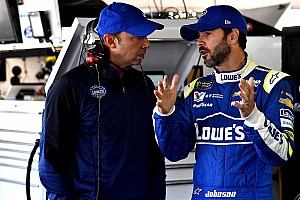 NASCAR Cup Breaking news Jimmie Johnson wants to end his career with Chad Knaus