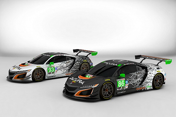 Acura reveals NSX liveries for 2017 IMSA season