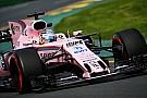 Галерея: Force India VJM10 у незвичній рожевій лівреї