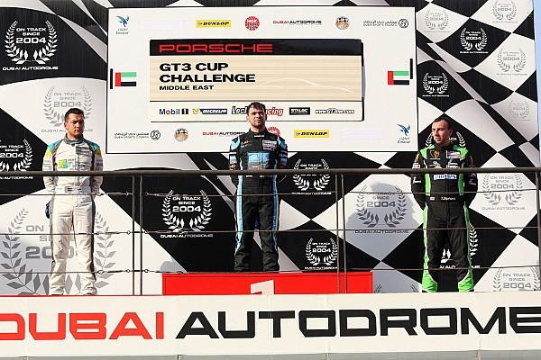 بورشه جي تي 3 الشرق الأوسط بورشه جي تي 3 الشرق الأوسط: كولين يحرز الفوز بالسباق الثاني في دبي
