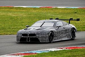 WEC Важливі новини BMW провела триденний тест нової M8 GTE