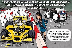 Formule 1 Contenu spécial L'humeur de Cirebox - Bientôt un F1 Live à Paris?