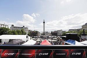 F1 Artículo especial Vídeo: sigue en directo la exhibición de los coches de F1 en Londres