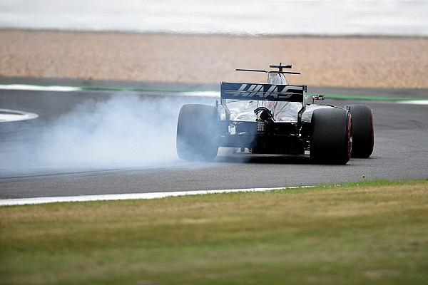Haas: Grosjean prova i dischi dei freni della Carbon Industrie