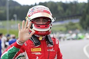 FIA F2 レースレポート 【F2オーストリア】レース1:ルクレール完勝で今季4勝目。松下は6位入賞