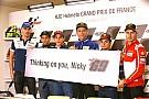 Le Mans: il mondo della MotoGP si stringe attorno a Nicky Hayden