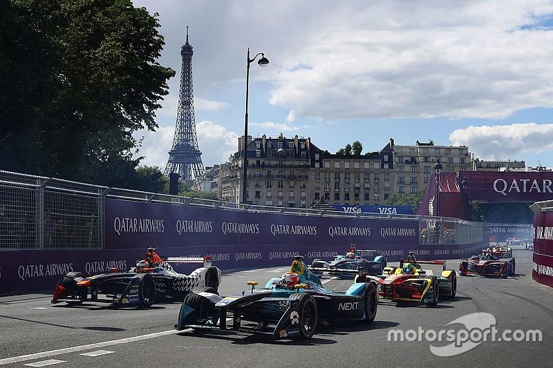 Les plus belles photos de l'ePrix de Paris