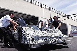 IMSA Важливі новини Новий прототип Acura DPi засвітився на тестах у Ле-Кастелле