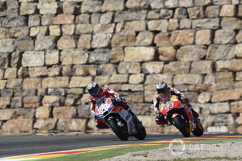 """Dovizioso: 16-point swing to Marquez """"not a drama"""""""