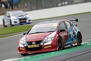 BTCC Race report Silverstone BTCC: Goff passes Ingram to win Race 2
