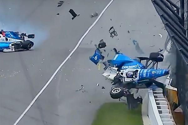 Stop/Go Livefeed Indy 500: több nézetből a horrorisztikus baleset