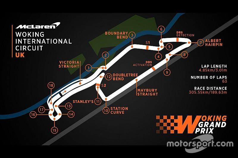 McLaren grapt over Formule 1-race in straten van Woking