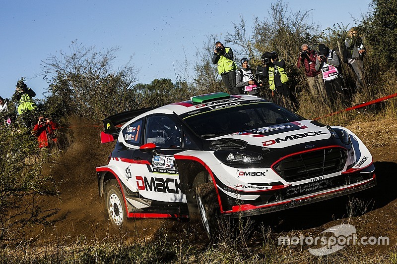 Evans manda en el Rally de Argentina