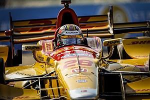IndyCar Verslag vrije training IndyCar St Petersburg: Dixon snelste in warm-up, Hunter-Reay crasht flink