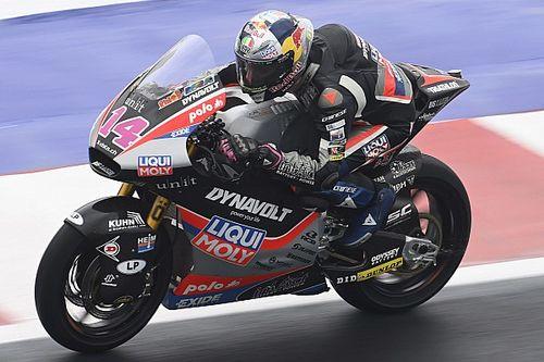 Moto2   Misano, Libere 3: guizzo di Arbolino, segue Bezzecchi