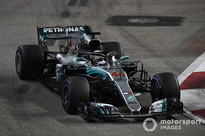 Hamilton dio la vuelta a la situación como Schumacher y Senna
