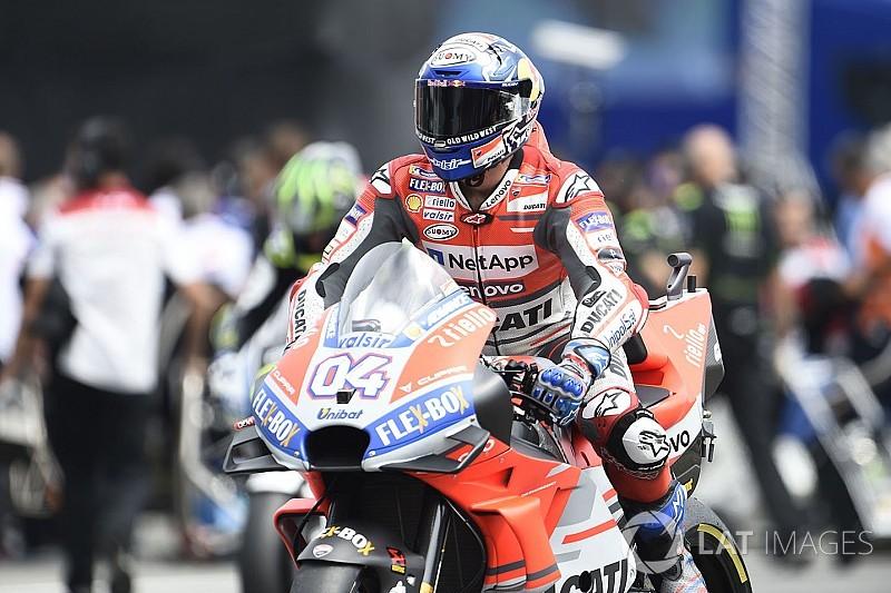 MotoGP Avusturya 1. antrenman: Dovizioso lider, Rossi sorun yaşadı