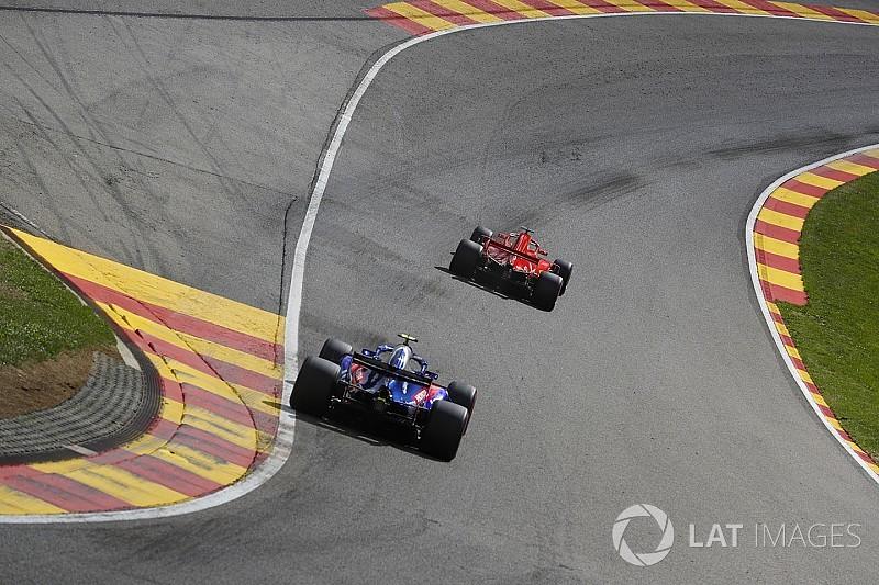 GALERI: Suasana dan aksi kualifikasi GP Belgia