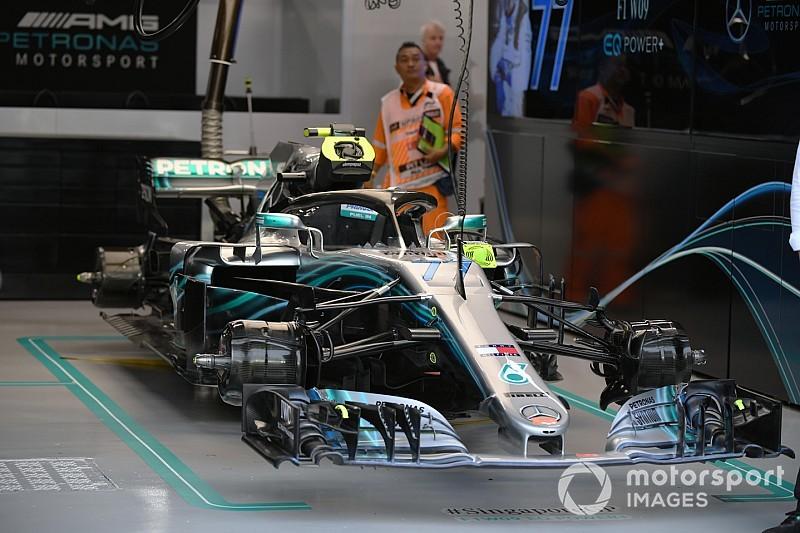 Los cambios que hicieron a Mercedes brillar en la noche de Singapur