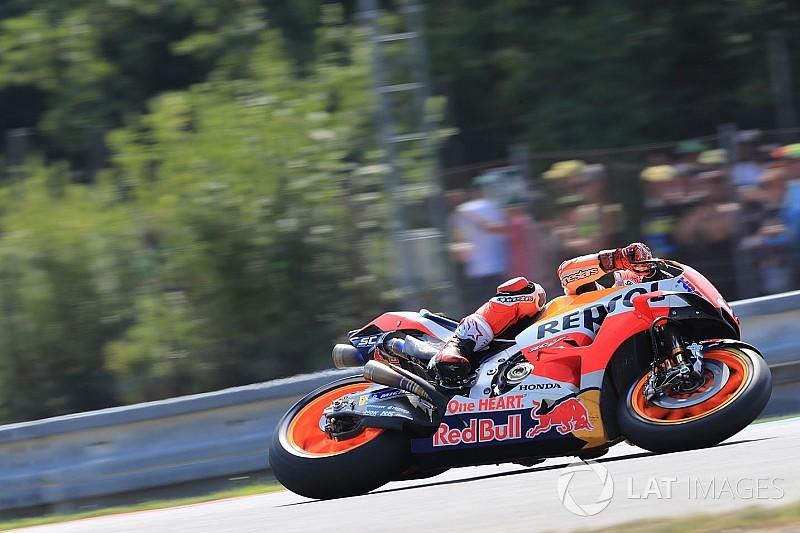 MotoGP-testdag Brno: Marquez blijft Zarco voor