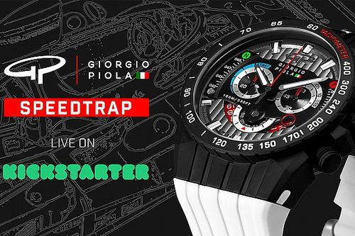 Giorgio Piola presenta il nuovo orologio Kickstarter SPEEDTRAP