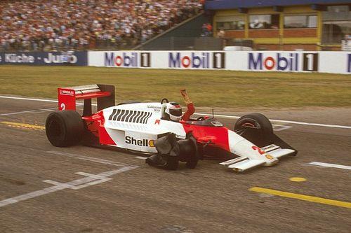 La última vez que un F1 llegó al podio con solo tres neumáticos