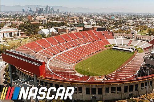 NASCAR gaat in 2022 racen in Olympisch Stadion van Los Angeles