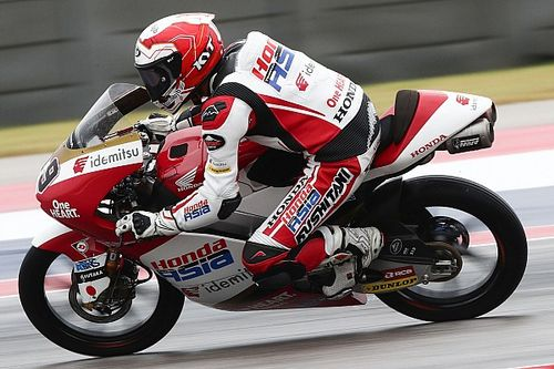 Hasil FP2 Moto3 Emilia Romagna: Andi Gilang P11, Mario Aji Crash