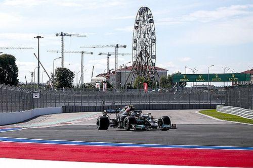 F1ロシアFP1:ソチ得意のボッタスがトップ発進。フェルスタッペン3番手、角田裕毅は16番手