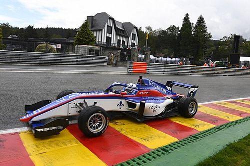 W Series Spa: Kimilainen gana y Marta García logra un podio bajo lluvia