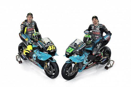 Petronas presenta la Yamaha de Rossi y Morbidelli