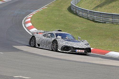 La Mercedes-AMG One surprise sur le Nürburgring