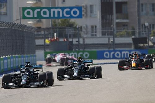 2020 F1 Russian Grand Prix race results