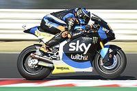Moto2, Barcellona: pole position da record per Luca Marini