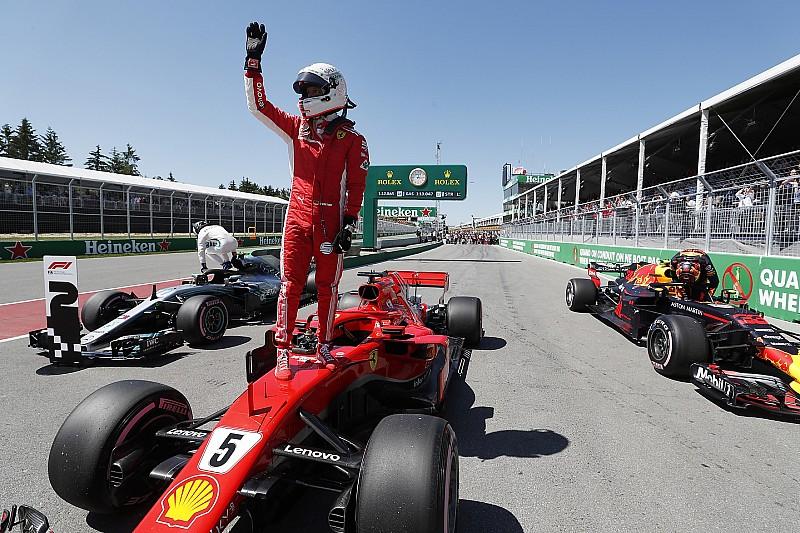GP Kanada: Vettel amankan pole di depan Bottas