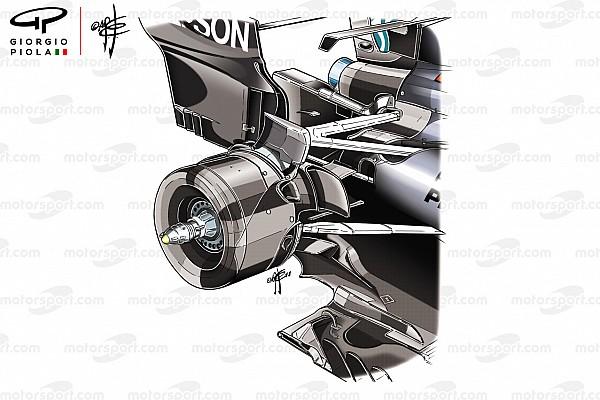 Formula 1 Analisi Mercedes: quanto è alto il bracket della sospensione posteriore!