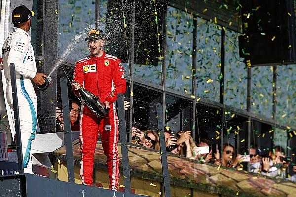 Formula 1 Statistik GP Australia: Vettel gabung klub '100 podium'