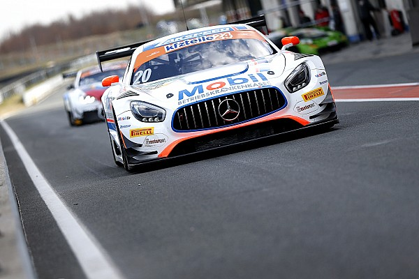 GT-Masters Mercedes-AMG bei GT-Masters-Generalprobe vorn