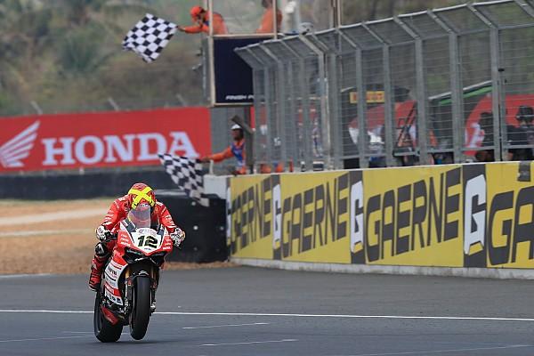 Rea gana en Buriram con Xavi Forés segundo
