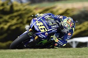 """MotoGP Noticias Rossi: """"Mi posición no es mala, lo que me preocupa es el ritmo"""""""
